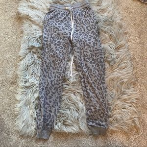 Cheetah joggers. Only worn once